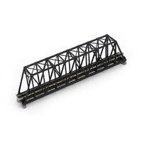 """Kato N  20434 Unitrack 9-3/4"""" Truss Bridge  Black   KAT20434"""