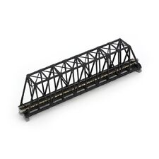 "Kato N  20434 Unitrack 9-3/4"" Truss Bridge  Black   KAT20434-NEW"