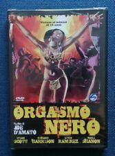 "DVD ""ORGASMO NERO"" Laura Gemser, Joe D'Amato - SEALED / SIGILLATO"