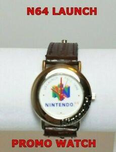 Nintendo 64 N64 Launch Watch Employee Gift Promo RARE Brand New Battery