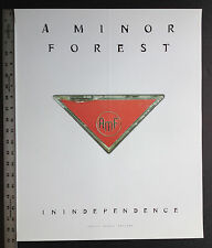 A Minor Forest Inindependence original 1998 poster!!!