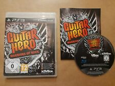 GUITAR HERO: WARRIORS OF ROCK ~ PAL PlayStation 3 ~ VGC, COMPLETE & FULLY TESTED