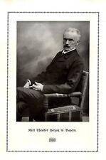 Karl Theodor Herzog in Bayern Foto-Kunstdruck von 1910