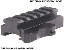 Quick Release 5 Slot Crossbow Rail Riser Mount Fit 20mm Weaver / Picatinny Rail