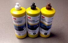 3M 05973,05996,05990 Buffing And Polishing Compound Hand Glaze (3 Quarts)