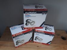 Aurora Recessed Ceiling Down Lights 50w 12/24v Fire Safety standard X 3