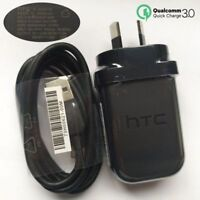 Original QC 3.0 Quick Charger AU Adapter Type-c Cable For HTC U11 /U Ultra /M10
