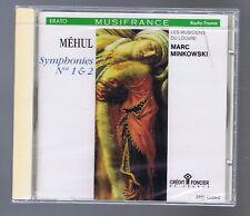 MEHUL CD NEW SYMPHONIES 1/2 MARC MINKOWSKI /LES MUSICIENS DU LOUVRE