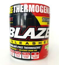 SAN - Blaze Unleashed, Lemon Lime - 140 grams Delicious Drink Mix