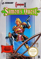 Castlevania II 2 Simon's Quest Nintendo Nes Cleaned & Tested Cart Only Authentic