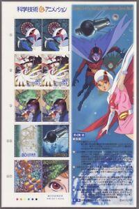 (ja168) Japan 2004 Science Technology Animation No.4, Gatchaman, conductive pol