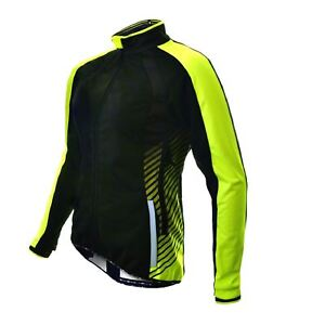 Cycling Jacket Funkier Tacona WJ-1324 Ladies Windstopper Black/Yellow Large