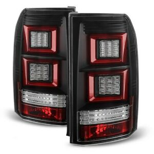 Land Rover 05-09 Discovery 3 LR3 Black LED Rear Tail Brake Lights & Signal