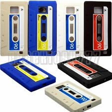 for samsung galaxy s2 i9100 and i777 cassette tape case silicon soft