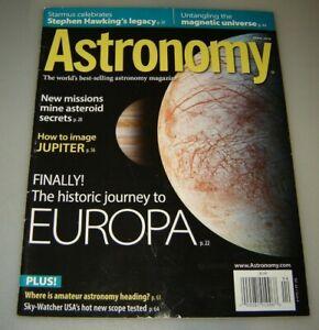 Astronomie Revue - Avril 2016 - Stephen Hawking's Legacy, Magnétique Universe