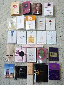 32  verschiedene Damen Luxusproben/ Duftproben und 1 Miniatur Narciso Rodriquez