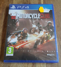 MOTORCYCLE CLUB Jeu Sur Sony PS4 Playstation 4 Neuf Sous Blister VF
