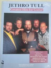 JETHRO TULL / GREATEST HITS TAB BOOK FOR GUITAR 56 pages, 15 classic songs