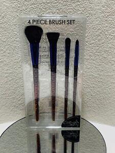 Makeup brush Set,Unicorn Handle Makeup Brush Set, Purple Hombre Flat Contour NIB