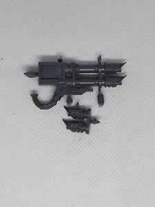 Warhammer 40k Space Marine venerable Dreadnought twin linked lascannon
