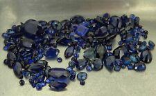 mixed lot blue sapphires 45.55ct natural loose gemstones