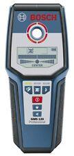 NEW Bosch GMS120 Professional Multi-Detector Stud Finder Wood Metal Live Wires