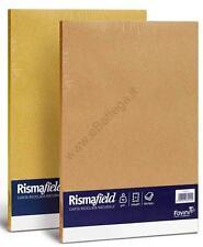 N° 10 RISME DA 100 pz FAVINI CARTA RICICLATA RISMA FIELD A4 90 gr  VARI COLORI