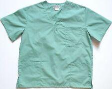 Natural Uniforms Nurses Uniform Scrub Top  Sea Green Sz S