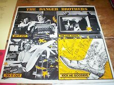 THE DANGER BROTHERS ~ SEALED 1987 private POWER POP vinyl PROMO LP w/ inserts NM