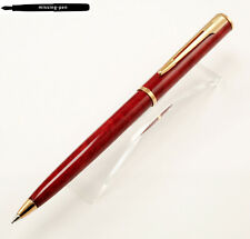 Waterman Apostrophe Push Pencil (0.7 mm) in Red-Marble Gold