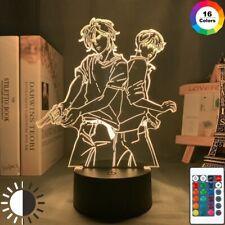 Acrylic Led Night Light Banana Fish Anime Gadget 3D Lamp Bedroom Decor