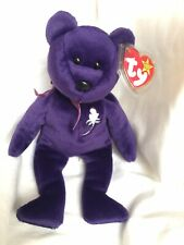 PROCEEDS TO ASSIST A FAMILY IN NEED TY Purple Princess Diana Beanie Baby