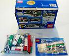 Lego City Set 3180 Tank Truck with Mini Figure & Gas Pump Used w Torn Box