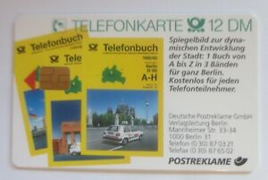 Phone Cards Advertisement Phone Book German Postal Service (1663)