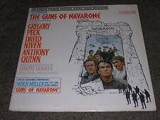 "THE GUNS OF NAVARONE (VG) 1961 Tiomkin Soundtrack (NM) 12"" Columbia LP CL 1655"