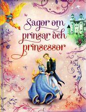 Buch Märchenbuch SCHWEDISCH - Sagor Om Prinsar Och Prinsessor, 18 Märchen, NEU