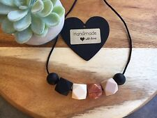 Silicone Sensory (was teething) Necklace for Mum Jewellery Beads Aus Gift Copper