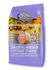 Nutrisource Grain Free ( Turkey ) Small Medium Puppy 15Lb