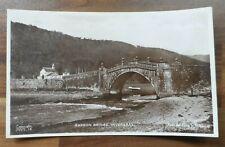 Old postcard - Garron bridge Inveraray - Tuck's real photograph