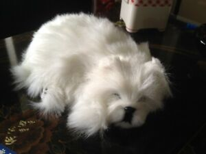 PERFECT PETZZZ WESTIE - BREATHES LIKE REAL..  LESS THAN A THIRD OF NORMAL RETAIL