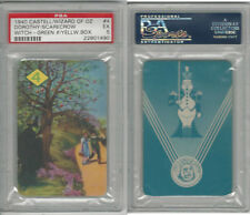 1940 Castell Card, Wizard Of Oz, #4 Dorothy & Scarecrow, PSA 5 EX