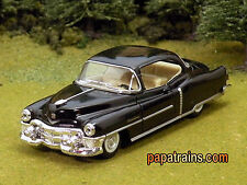 Die Cast 1953 Black Cadillac 53 Caddy O Scale 1:43 by Kinsmart 53 Caddy