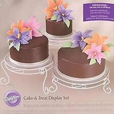 15 pc Cake and Treat Display Set from Wilton 352 NEW
