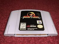 Mortal Kombat 4 Nintendo 64 Cartridge ONLY Clean & TESTED! Very Good Condition!