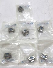 Lot of 7 NEW L-Com D-Sub Connector Adapter DB9 Male-Female 9 Pin 90 Degree Angle