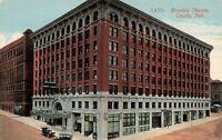 Postcard Brandeis Theatre Omaha Nebraska
