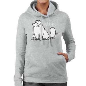 Simon's Cat Purrfect Hooded Sweatshirt, Unisex UK SELLER