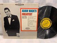 ADAM WADE'S Greatest Hits LP Record Album Vinyl