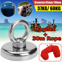 KE/_ 25//30//66Kg Recovery Magnet Hook Strong Sea Fishing Diving Treasure Hunting
