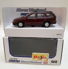 Fiat Marea weekend station wagon familiare Maisto Art 9632 1/43 bordeaux MB mint